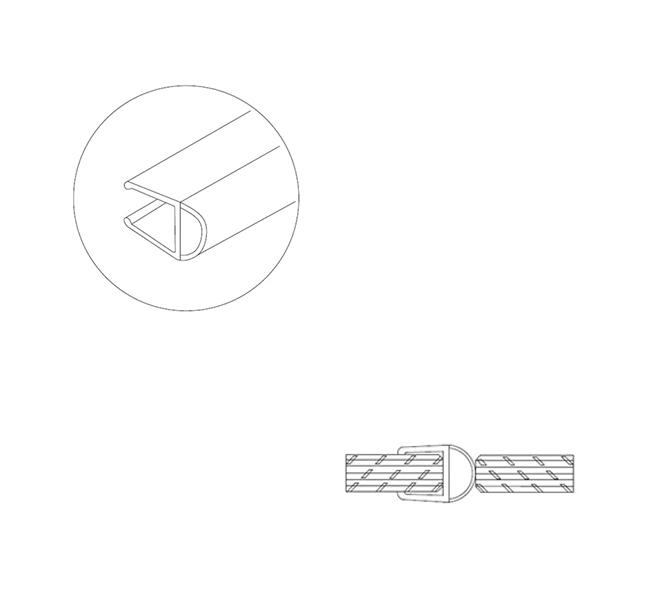 Pvc 11 Sealing Strip Lawrence Hardware